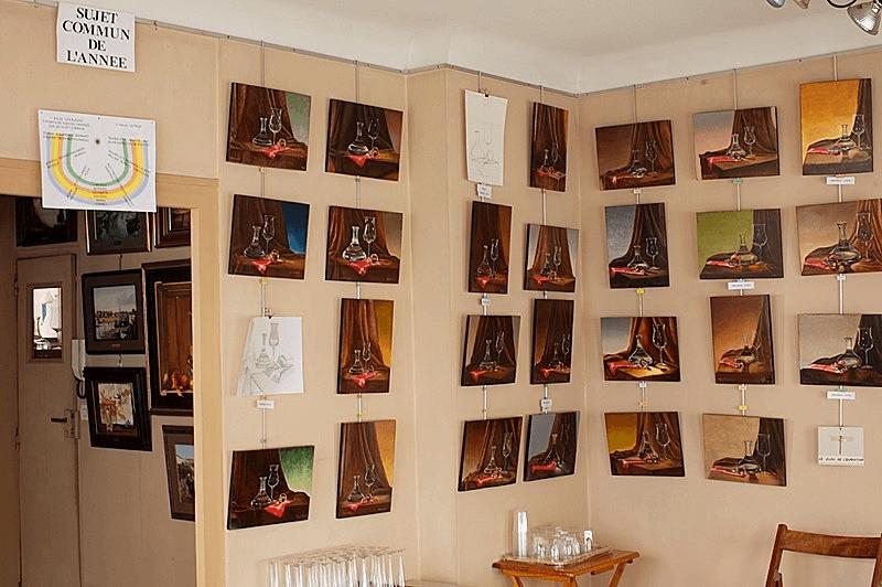 Cours de dessin et de peinture dans les Deux-Sèvres | Richard Gautier